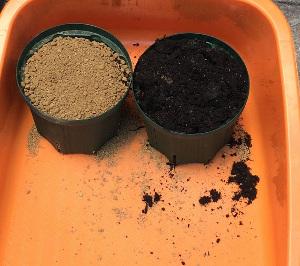 赤玉土と野菜の培養土